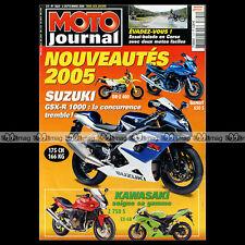 MOTO JOURNAL N°1629 BETA 350 ALP 4.0, HM-HONDA CRE 230 F, SUZUKI GSXR 1000 2004