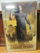 Vintage A man Apart Vin Diesel movie poster 2003 196