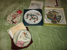 Veneto Flair Collector Plate La Belle Femme/Opera Madonna Butterfly/Dragon dance