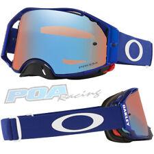 New 2021 Oakley Airbrake MX Goggle Moto Blue – Prizm Sapphire Iridium Lens