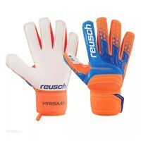 Reusch Prisma SG Soft Grip Goalkeeper Goalie Glove Orange/Blue