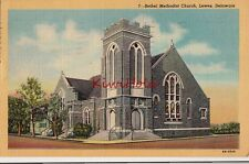 Postcard Bethel Methodist Church Lewes DE