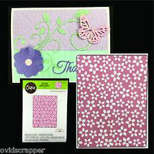 Sizzix Embossing Folders TINY FLOWERS embossing folder 660407 Doodlebug Design