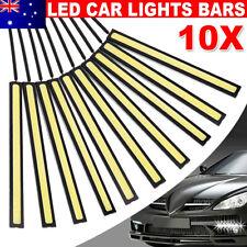 10X 12V Waterproof DRL LED Strip Lights Bars Camping Caravan Boat Car COB-White