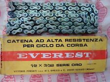 Vintage NOS 80,s Everest ORO  Racing Chain, 5/6/7 Speed Campagnolo compatible