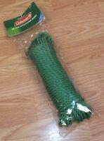 Genuine Coleman (B21B185T) 50' (Feet) Polyethylene Green Rope **NEW-READ**