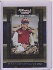 RARE 2008 DONRUSS LEGENDS STEVE CAUTHEN CARD #MC-32 ~ MUSEUM /1000  HORSE RACING