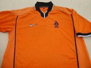 NETHERLANDS HOLLAND WORLD CUP 1998 NIKE FOOTBALL SOCCER SHIRT JERSEY TOP LARGE