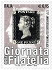 2015 Italia 2 singoli Giornate della filatelia con codice a barre 1702 MNh**