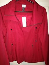 Chico's Red Dinner Jacket paid $118.00 - 2X plus size