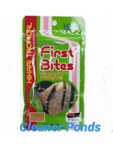 Hikari Tropical First Bites 10g Aquarium Fish/Fry Food