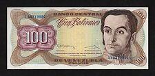 F.C. VENEZUELA , 100 BOLIVARES 1992 , S/C ( UNC ) , P.66e .