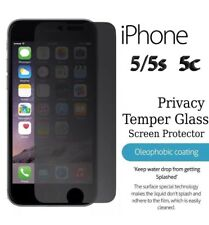 PRIVACY PROTECTOR ANTI SPY SCREEN TEMPERED GLASS MATTE FOR IPHONE 5S & SE