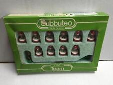 Subbuteo BENFICA, SWINDON, ROTHERHAM, WREXHAM Vintage Serie C100 ref. 138 MIB