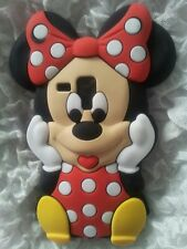 UK-SILICONE CASE MINNIE RED FOR SAMSUNG GALAXY S DUOS S7562/TREND S7560