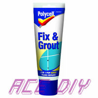 Polycell Fix and Grout   White Waterproof 2 in 1 Broken Tile Repairs 330g Tube