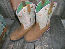 Girl's John Deere Johnny Popper Boots - Size 5M