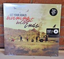 SET YOUR GOALS - Burning at Both Ends, LP BLACK VINYL + Bonus Tracks + CD NEW !