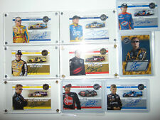 HUGE LOT 2009 Press Pass Signings Autograph Auto Menard/Labonte/Stremme Nascar