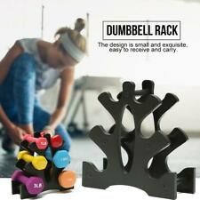 3-Tier Fitness Dumbbell Weight Storage Stand/Holder/Rack For Gym Dumbells New