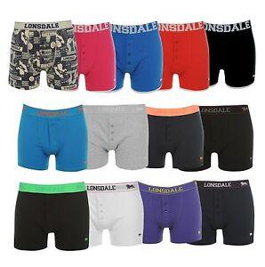 2x LONSDALE Boxershort sous-vêtements Trunk Slip h2 m-4xl
