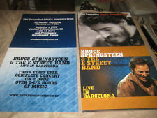 BRUCE SPRINGSTEEN-(live in barcelona)-1 POSTER-2 SIDED-12X24-NMINT-RARE