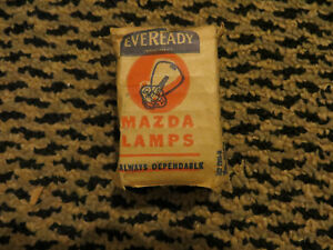 Eveready / Mazda Lamps (GE) bulb 6-8 volts  - pre focused for 1930s Buick NOS