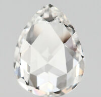 Natural Loose Diamond Pear G Color VS2 Clarity 7.50 MM 1.01 Ct KDL7208