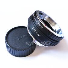 Voigtlander DKL Lens To Leica M LM Adapter M4 M5 M6 M7 M8 M9 Techart -LM-EA7 CAP