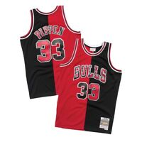 Scottie Pippen 1997-98 Chicago Bulls Mitchell & Ness Men's Split Swingman Jersey