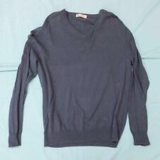 Men's J. Crew Sweater V Neck Cotton Cashmere Blend Size M Medium dq
