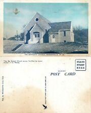 WARDENSVILLE W.VA METHODIST CHURCH ANTIQUE POSTCARD