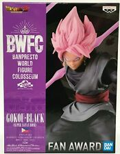 Dragon Ball Goku Black SS Rosé Figure Banpresto Colosseum BWFC Japan Authentic