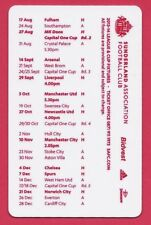 Sunderland Black Cats AFC 2013-14 Schedule Premier League – Soccer Futbol