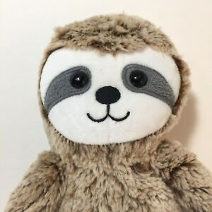 Sloth Plush Stuffed Animal Brown Cream 16 inches tall