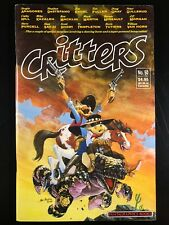 Critters 50 Fantagraphics Books 1990 Duckula, and Domino! Rare final issue! D5