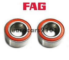 Volkswagen Eos Golf FAG (2) Front & Rear Wheel Bearings 1J0407625 801136