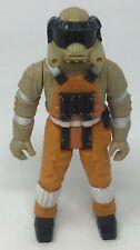 Vintage 1985 Orange Robotix Space Commander Scout Pilot Astronaut Action Figure