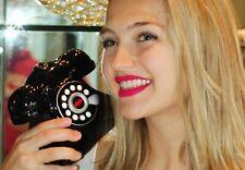 Timmy Woods MARILYN MONROE BLACK TELEPHONE PHONE PURSE CLUTCH SHOULDER BAG LIPS