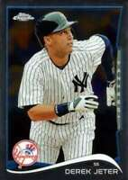2014 Topps Chrome #56 Derek Jeter NM-MT New York Yankees Baseball Card ID:739