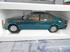 MERCEDES BENZ S-Klasse W140 600 S600 1997 grün green 183593 Norev NEU 1:18