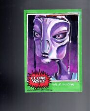 Star Wars Clone Wars Rise of the Bounty Hunters  sketch card