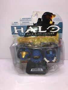 The Halo 3 Collection Three Blue Helmets Cob, Rogue & EOD