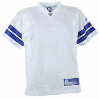 NFL Reebok Plain White Blue Football Jersey Youth Boys Dallas Cowboys
