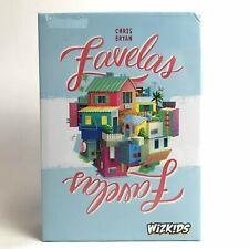 WIZKIDS Favelas Board Game Tile Laying Entertainment Euro Style Boxed 161023