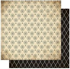 """Authentique Twilight #4 SPIDERS & WEBS - 12x12"""" D/sided Scrapbooking Paper"""