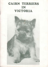 CAIRN TERRIERS IN VICTORIA 1986 Edition **GOOD COPY**