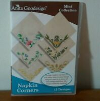 Anita Goodesign Mini Collection Napkin Corners DVD