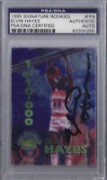 Elvin Hayes Signed 1995 Signature Rookies - PSA DNA