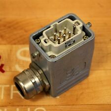 Weidmuller HDC-HE-6SS, 6 Pin Connector. #120000, 500/ 6kV/ 3 - USED